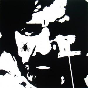 <i>Plinio Marcos Brutal</i>, quadro de Luís Fabiano Teixeira