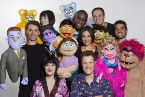Elenco do musical <i>Avenida Q</i>