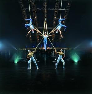 <i>Quidam</i>, 3º espetáculo do <i>Cirque du Soleil</i> no país