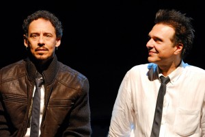 Emílio de Melo e Fernando Eiras em <i>In On It</i>
