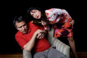 Paulo Coronato e Flávia Garrafa em <i>TPM Katrina</i>