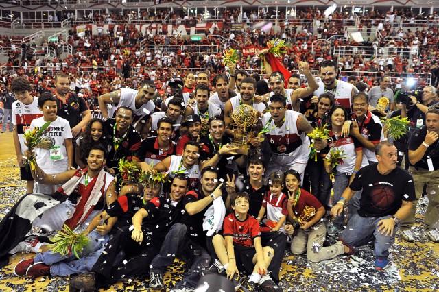 Flamengo, atual campeão do NBB