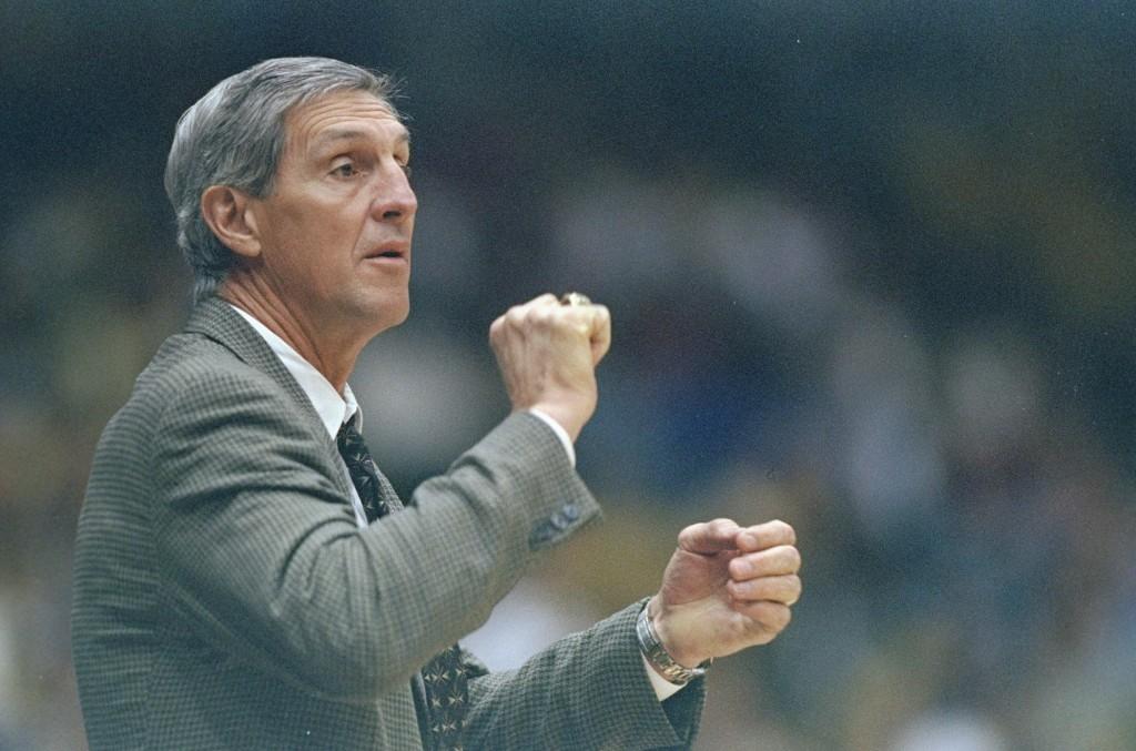 Coach Jerry Sloan