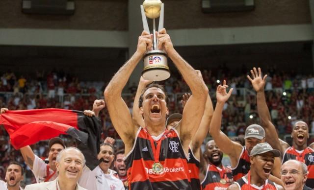 Marcelinho Machado foi eleito o MVP da Liga das Américas (Foto: Alexandre Vidal/Fla Imagem)