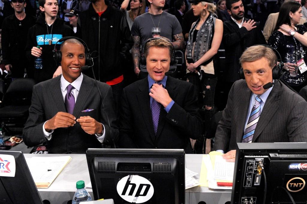 Steve Kerr (ao centro): será ele o próximo técnico do New York Knicks? (Foto: Getty Images)