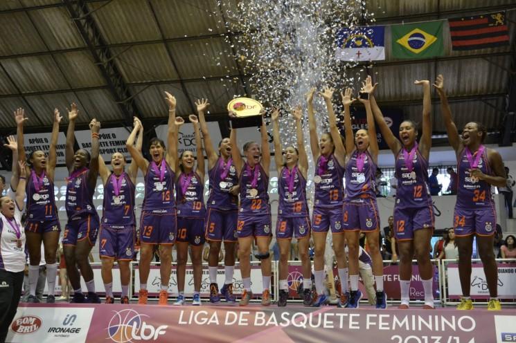 Americana, campeã da LBF (Foto: Robson Neves/Sport Recife/Divulgação)