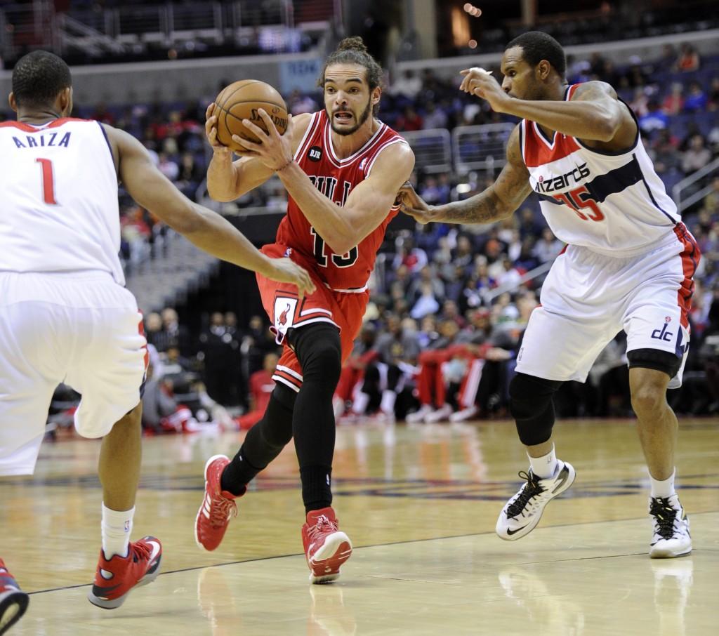 Bulls não tem bom retrospecto contra o Wizards nesta temporada (Foto: AP)