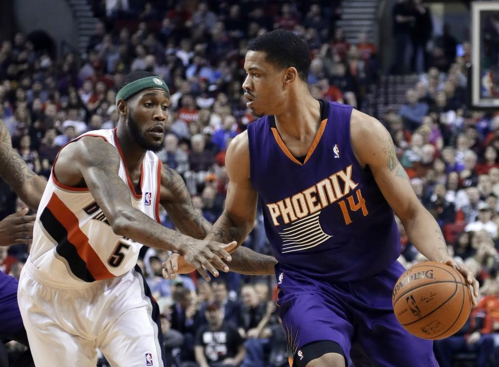 Gerald Green, uma das boas surpresas do Phoenix Suns nesta temporada (Foto: AP)