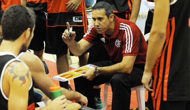 José Neto, técnico do Flamengo (Ricardo Ramos/LNB)
