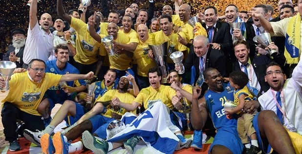 Maccabi: time que venceu a Euroliga não existe mais (Foto: Euroleague/Divulgação)