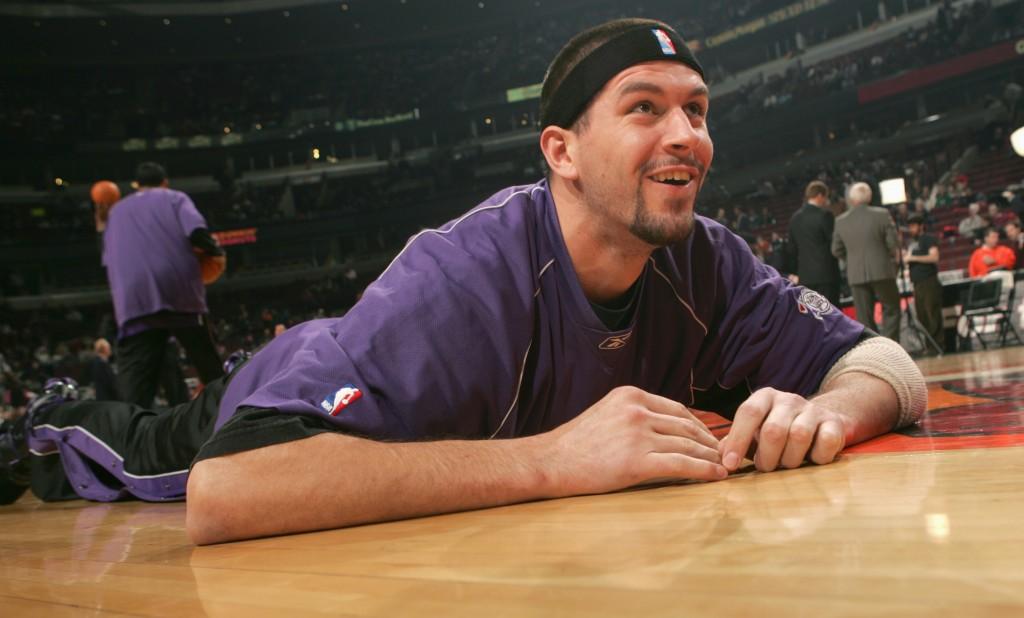 Brad Miller, o único do time dos EUA de 1998 que brilhou na NBA (Foto: Getty Images)