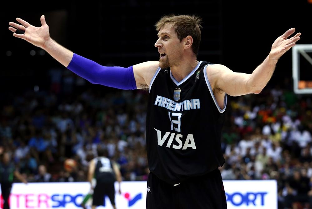Andrés Nocioni: inspiração para os argentinos na defesa (Foto: Fiba/Divulgação)