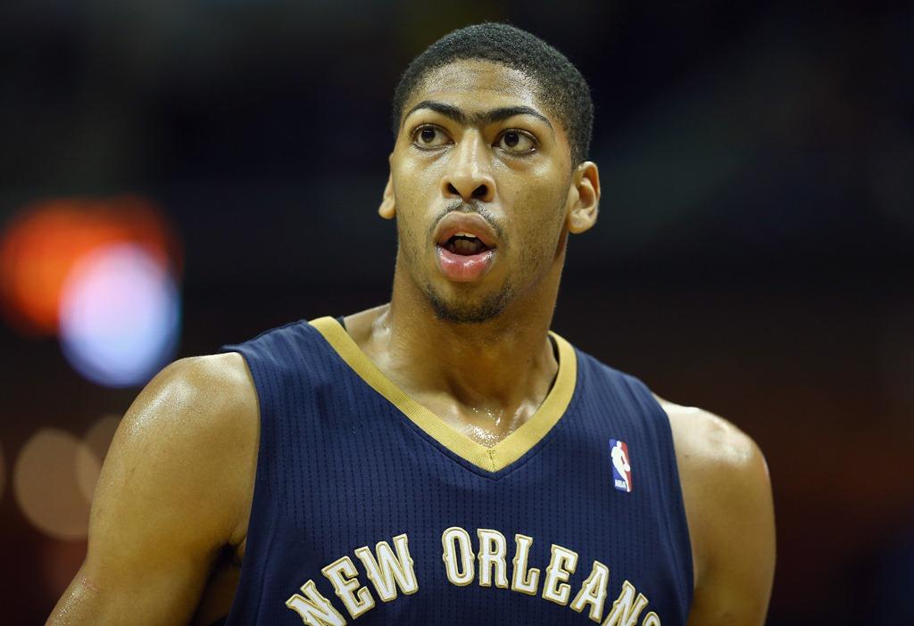 Anthony Davis: ala-pivô já é uma realidade na NBA (Foto: Getty Images)