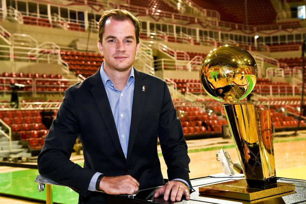 Arnon de Mello, diretor-executivo da NBA no Brasil (Foto: Wander Roberto/Inovafoto)