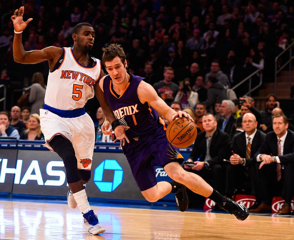 Goran Dragic: qual camisa vestirá na próxima vez que pisar no Madison Square Garden? (Foto: Getty Images)