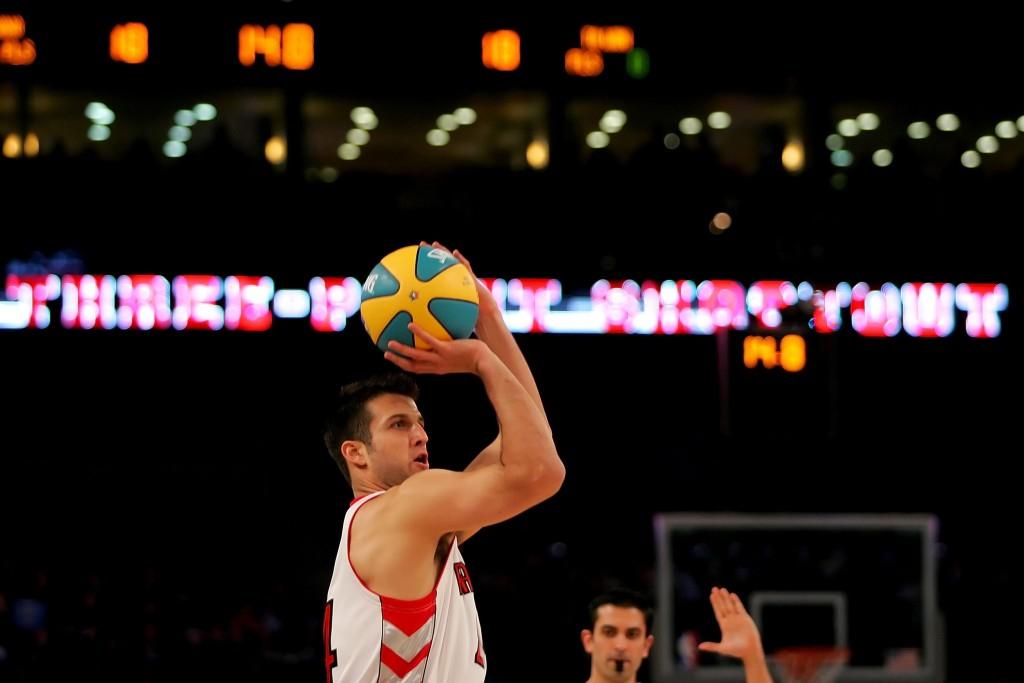 Jason Kapono: bolas de três costumavam ser com ele mesmo (Foto: Getty Images)