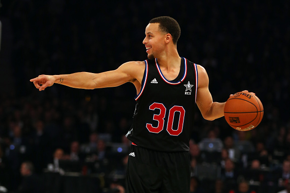 Stephen Curry foi o jogador mais votado para o All-Star Game (Foto: Getty Images)