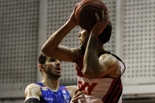Marcelinho zerou contra o Minas, antes de discutir no vestiário (Foto: Gilvan de Souza/Flamengo)