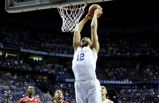 Karl-Anthony Towns: pivô de Kentucky pode ser o número 1 no Draft