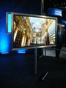 Com 2,5 cm de espessura, a Viera Z1 é a TV de Plasma mais fina do mundo