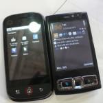 """Em comparação com um N95 8GB, o DEXT é mais """"alto"""""""