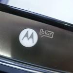 """Detalhe do logo, que anuncia o serviço """"BLUR"""""""