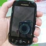 Android da Huawei troca teclado por tela sensível ao toque