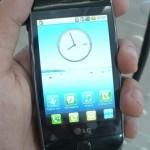 Android da LG mantém a interface padrão, sem customização