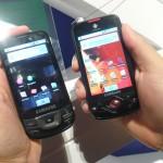 Galaxy e Galaxy Lite são os dois smartphones baseados no sistema Android