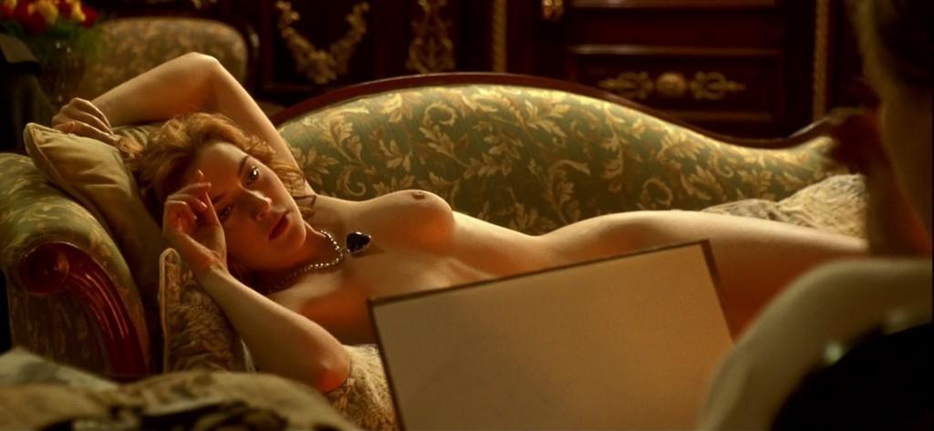 """Kate Winslet posa para Leonardo DiCaprio em cena de """"Titanic"""" (Foto: divulgação)"""