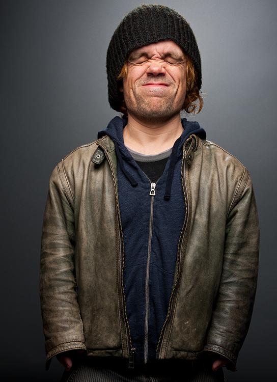 O ator Peter Dinklage, fotografado pela New York Times Magazine