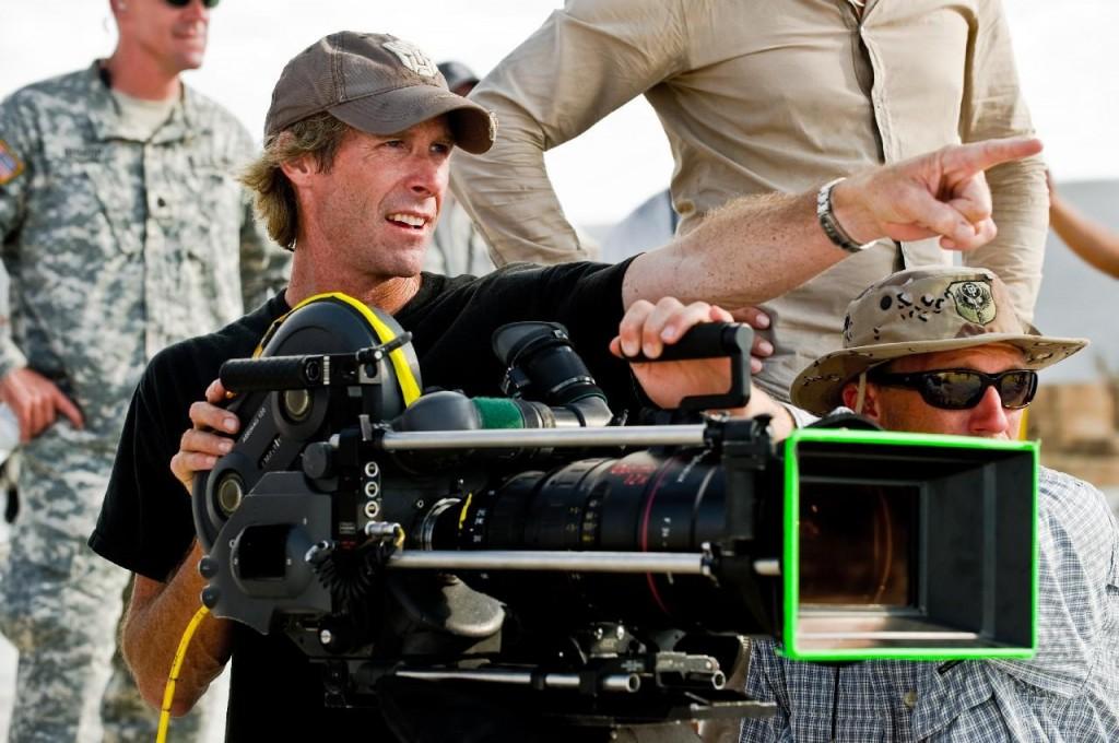 O diretor Michael Bay em ação... (Foto: divulgação)