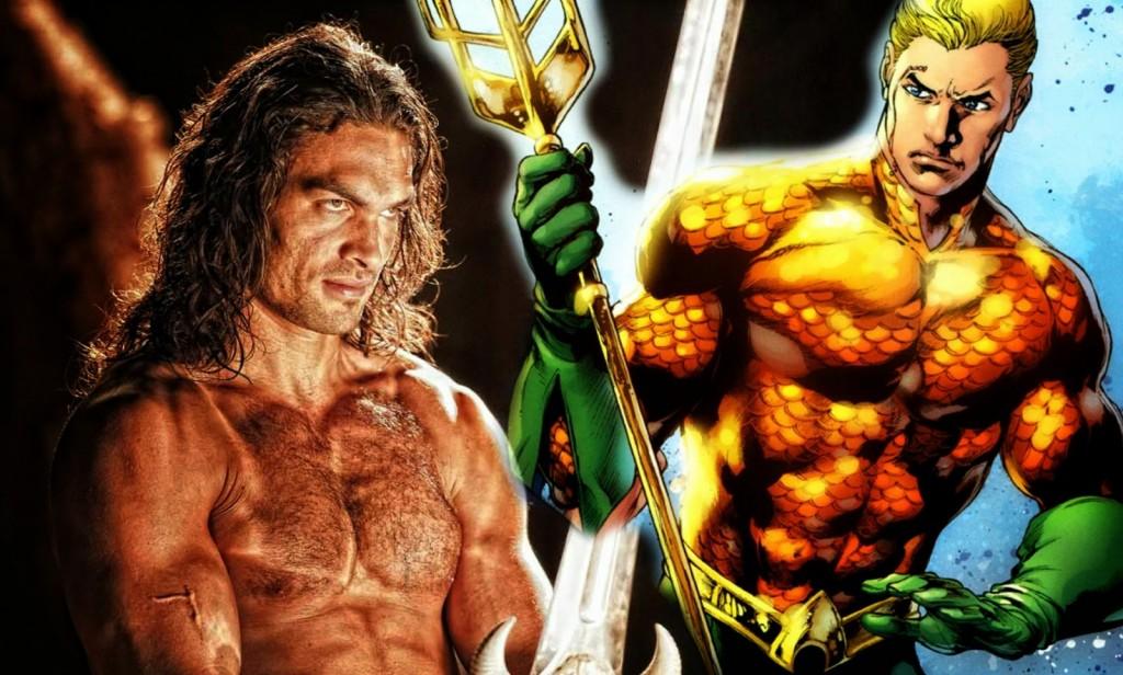 """Jason Momoa, de """"Game of Thrones"""" entra para o universo DC e será o protagonista de """"Aquaman"""""""