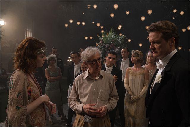 Woody Allen e seus protagonistas no set: divagações sobre o pós-vida  (Foto: divulgação)