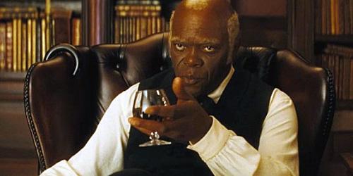 """Samuel L. Jackson em cena de """"Django livre"""""""