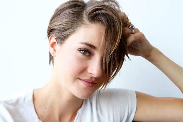 Shailene já provoca apreensão nos fãs de Jennifer Lawrence. Por que será?  Foto: reprodução/ Gloss