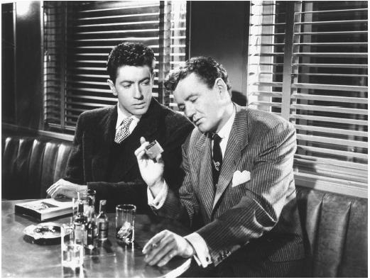 """Farley Granger e o inesquecível Robert  Walker, como Bruno, no 'Pacto sinistro"""" original (Foto: divulgação)"""
