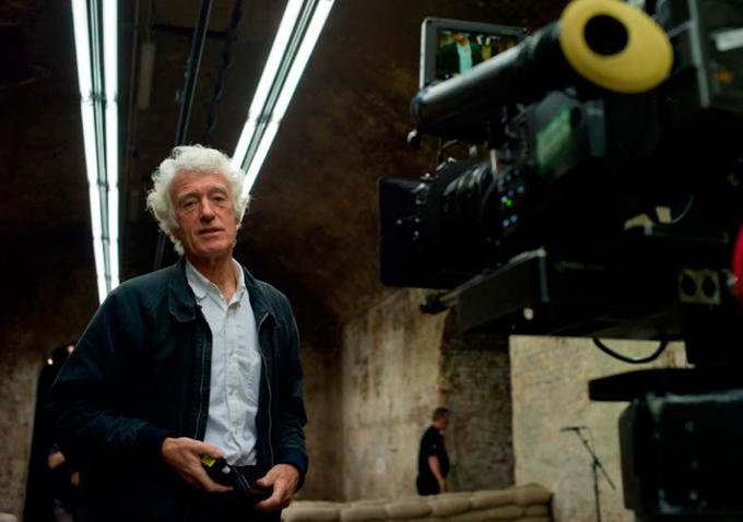 """Roger Deakins no set de """"007 - skyfall"""": será que este é o ano dele?  (Foto: divulgação)"""