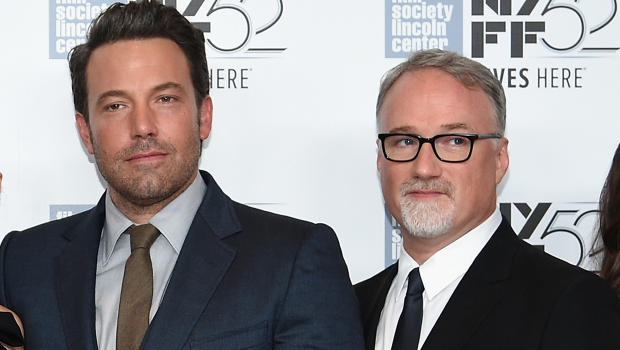 O ator Ben Affleck e o diretor David Fincher (Foto: Getty)