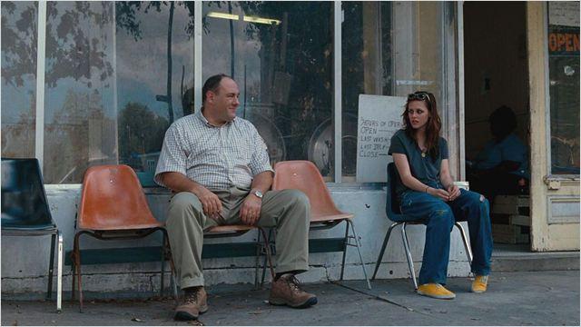 """A atriz contracena com James Gandolfini em """"Corações perdidos"""", mas não consegue esconder sua celebridade (Foto: divulgação)"""