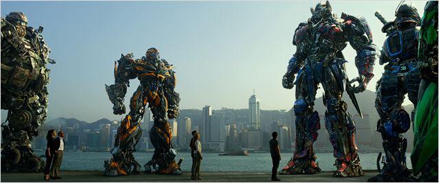 """Cena de """"Transformers: a era da extinção""""  (Foto: divulgação)"""