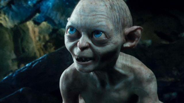 """Gollum (""""O senhor dos anéis"""")"""