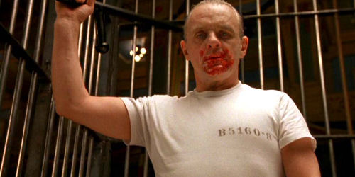 """Hannibal Lecter (""""O silêncio dos inocentes"""")"""