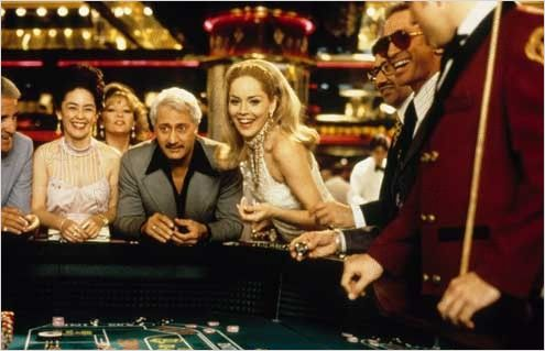 Sharon Stone em cena: faísca acesa