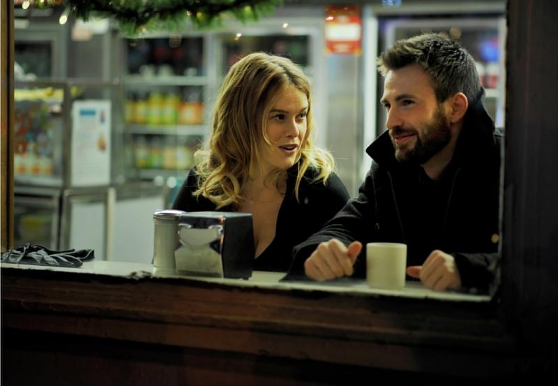 """Chris Evans e Alice Eve em cena de """"Before we go"""" (Foto: divulgação)"""