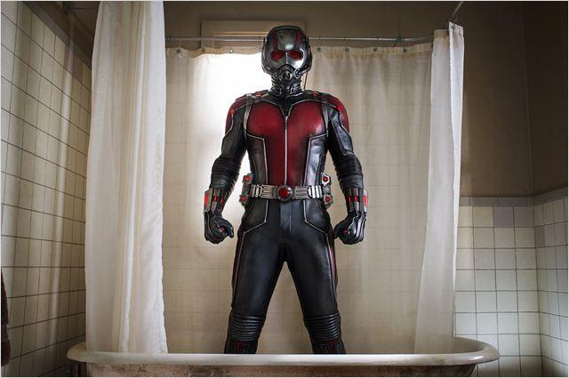 """Cena de """"Homem-Formiga"""", que estreia na próxima semana e fecha a chamada fase 2 da Marvel no cinema: A concepção narrativa das HQs levada para a tela grande"""