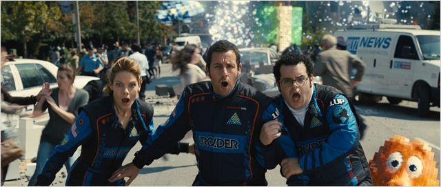 """Sandler em """"Pixels"""": crítica reprovou o filme. Como o público reagirá neste fim de semana?"""