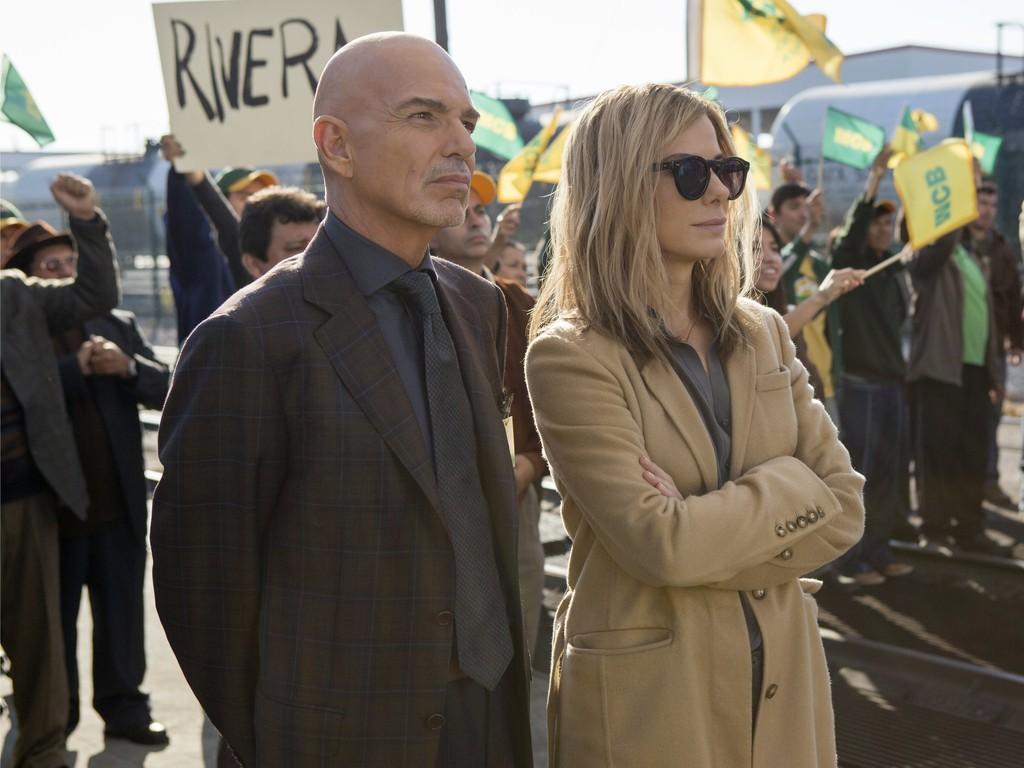 """Sandra Bullock e Billy Bob Thorton em cena de """"Especialista em Crise"""": Assim como """"Argo"""", filme é produzido por George Clooney (Foto: divulgação)"""