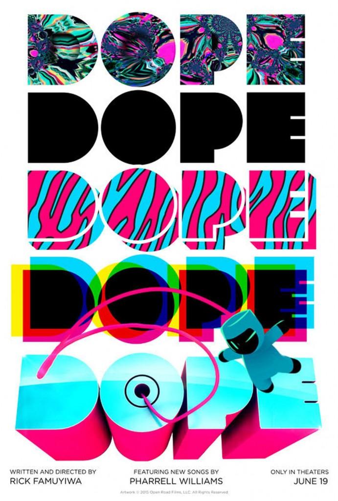 """A verve psicodélica de """"Dope: Um Deslize Perigoso"""" prevalece no imaginativo cartaz"""
