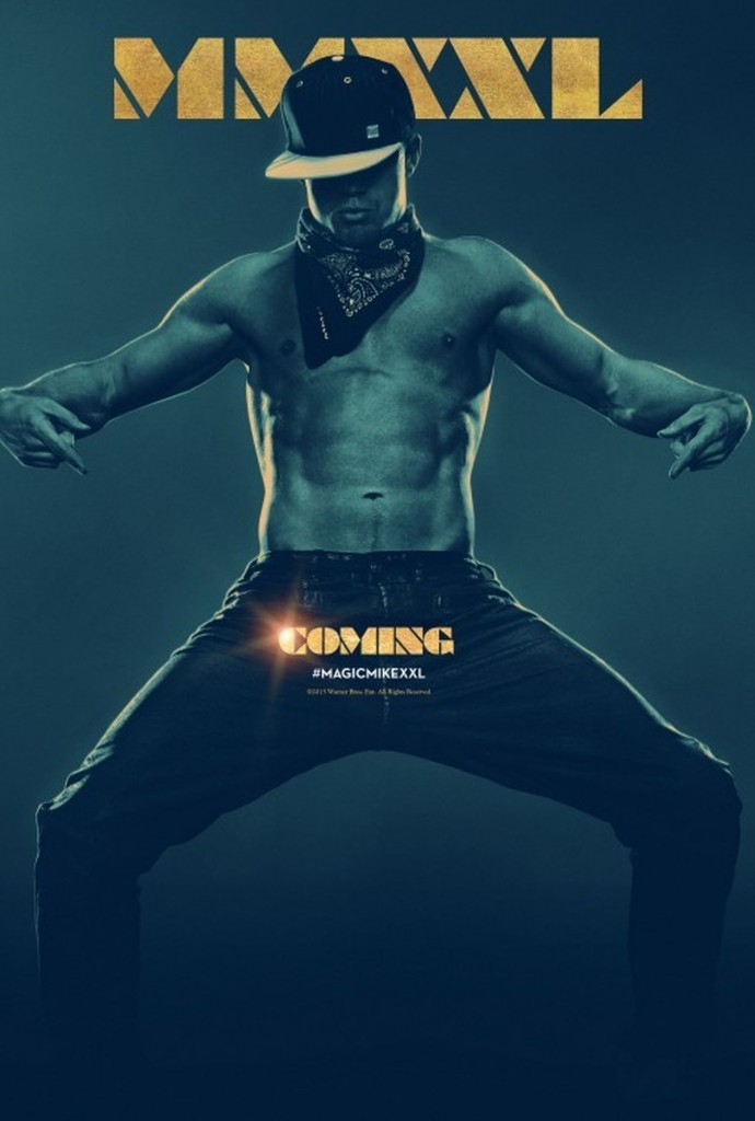 "O que dizer desta sacada genial do pôster de ""Magic Mike XXL""?"